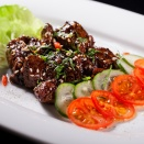 "Cubes ""Black Pepper"" beef"